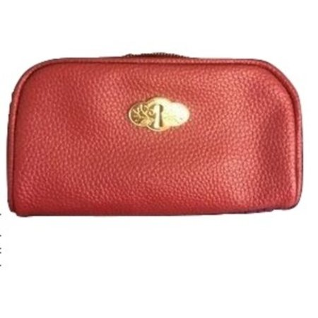 Bareminerals Bare Escentuals Red Cosmetic Makeup Bag