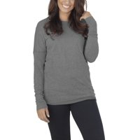 Fruit of the Loom Womens Athleisure Essentials Soft Long Sleeve Scoop Neck T-Shirt