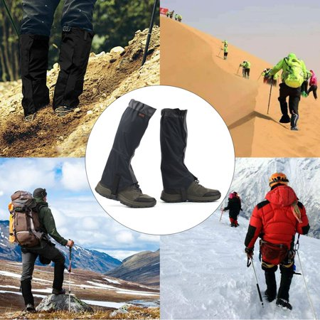 1 Pair OUTAD Waterproof Snow Legging Gaiters Cover for Outdoor Hiking Hunting - image 8 of 8