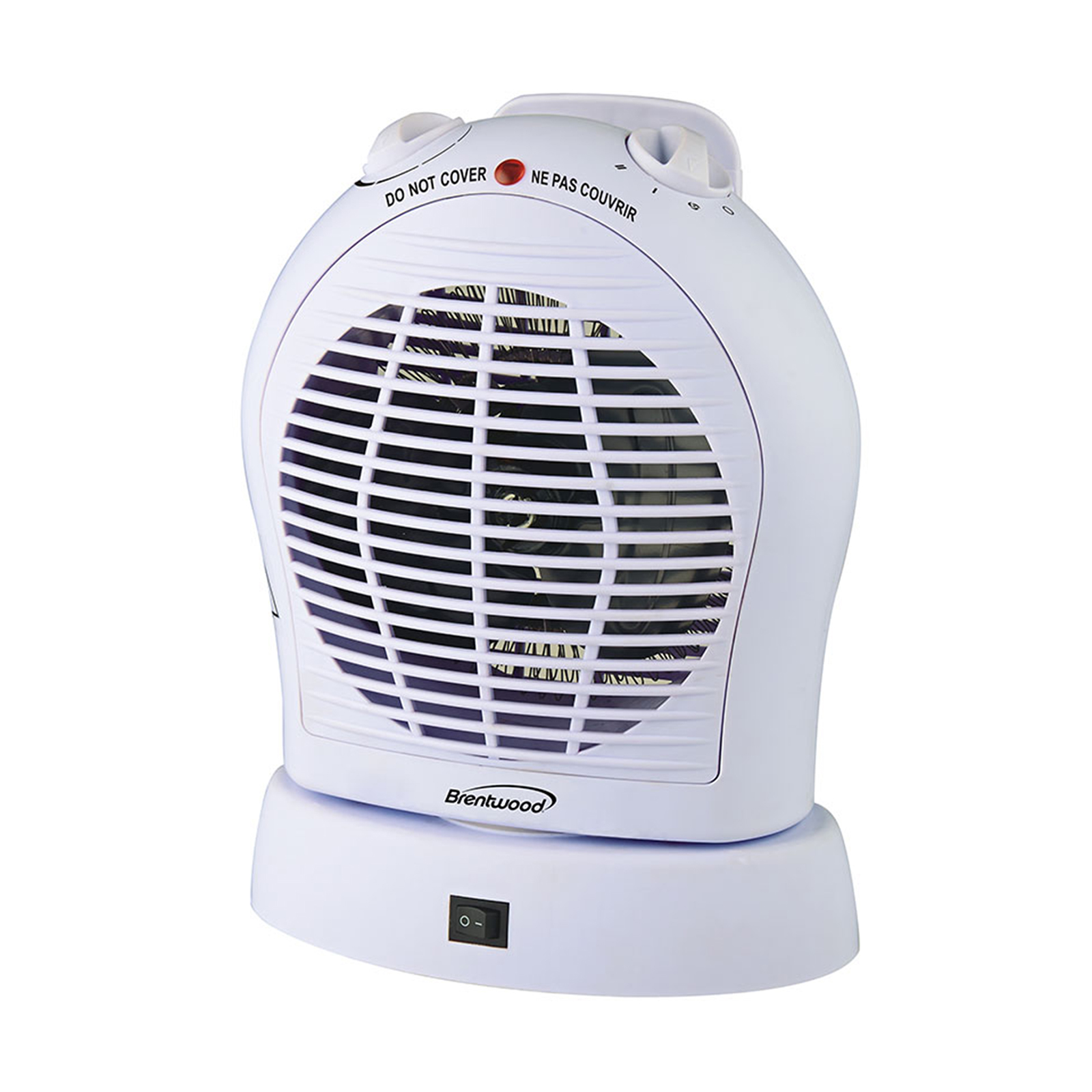 Brentwood 1500 Watt Oscillating Fan Heater