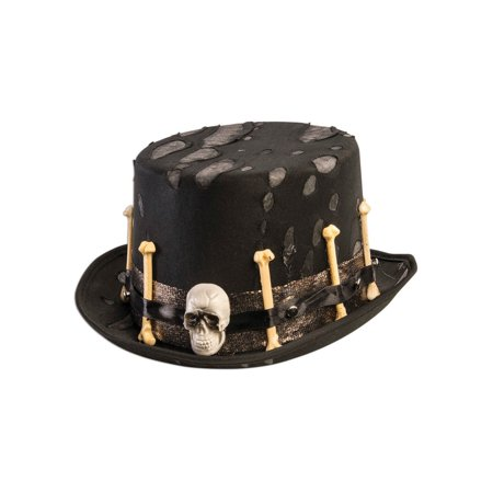 Voodoo Top Hat Halloween Costume Accessory](Halloween Horror Nights Voodoo)