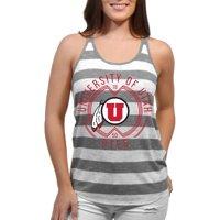 Utah Utes Intersecting Circles Women'S/Juniors Team Tank Top