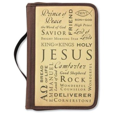 Inspiration Names of Jesus Large Book and Bible Cover - Names Related To Halloween