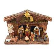 Kurt Adler 11-Piece Nativity Set