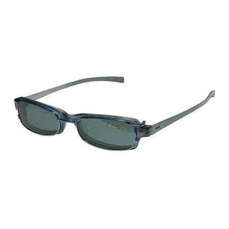 Eyes On Springs Glasses (New Smartclip 906 Mens/Womens Cat Eye Full-Rim Blue / Pearl Durable Cat Eye Polarized Clip-on Lens Frame Demo Lenses 48-17-140 Sunglass Lens Clip-Ons Spring Hinges Eyeglasses/Eye)