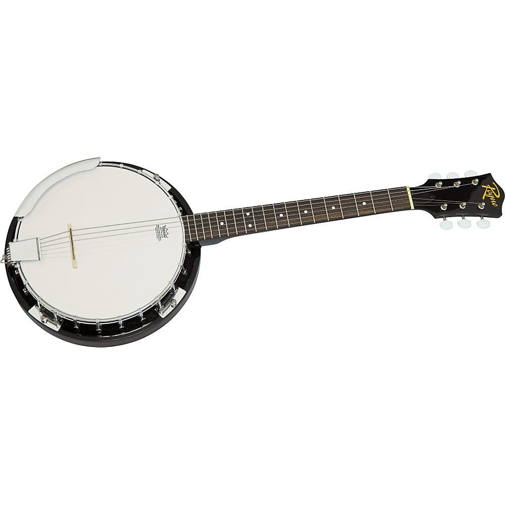 Rogue 6-String Banjo Natural by