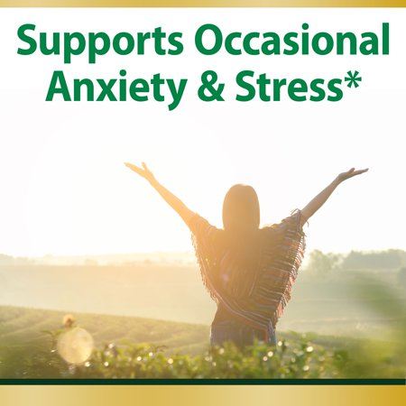 Nature's Bounty® Anxiety & Stress Relief, Ashwagandha KSM-66*, 50 Tablets