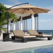 Best Choice Products Patio Umbrella Offset 10 Hanging Outdoor Market New Multiple