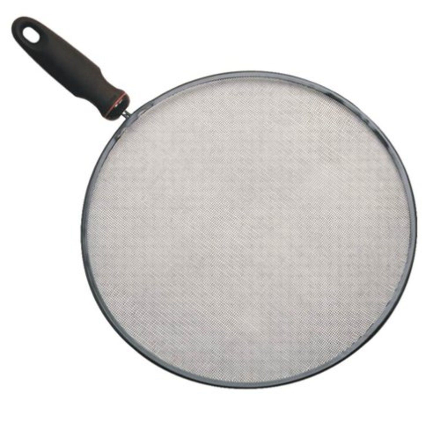 "Norpro New 13""/33cm D Non Stick Bacon Grease Splatter Screen Sieve/ Strainer"