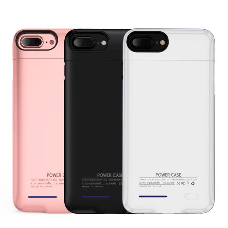 newest 41b8a 51bd3 Iphone 7 Plus, 6S Plus, 6 Plus 4200 Mah Uv Shine Back Cover Battery  Charging Case