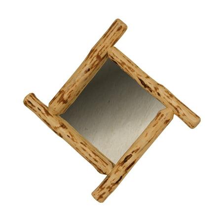 Furniture Barn USA™ Rustic Red Cedar Log Diamond