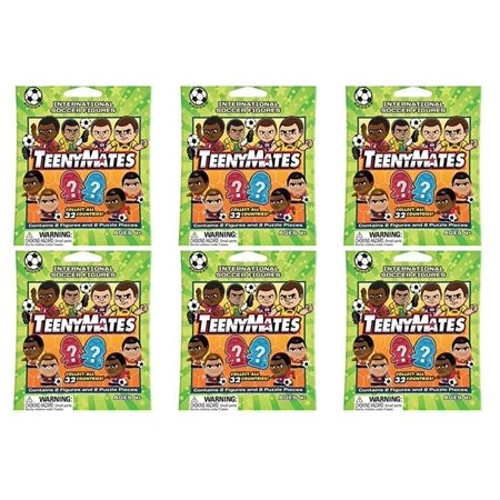 Party Animal Teenymates International Soccer 6 Packs ()