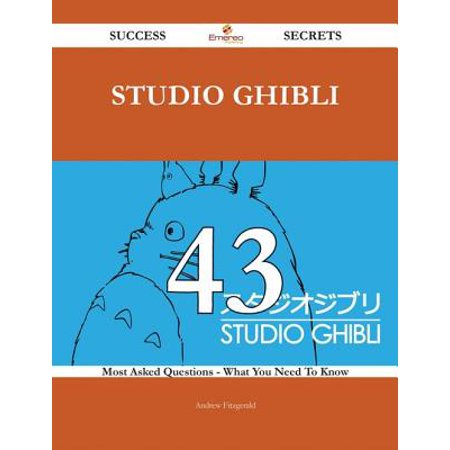 Studio Ghibli 43 Success Secrets - 43 Most Asked Questions On Studio Ghibli - What You Need To Know - eBook](Studio Ghibli Happy Halloween)