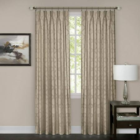 Windsor Pinch Pleat Curtain Panel - Walmart.com