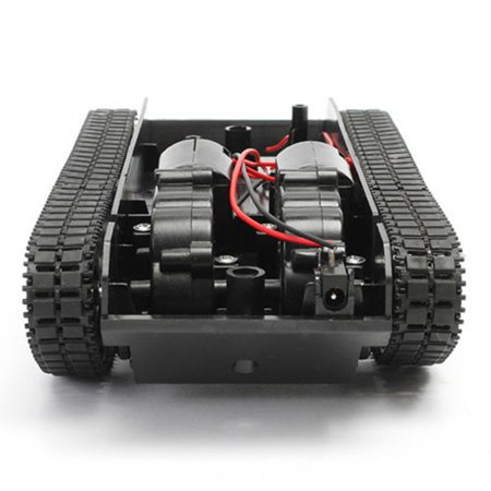 - Smart Novelty Smart Robot Tank Car Chassis Kit Rubber Track Crawler for Arduino 130 Motor