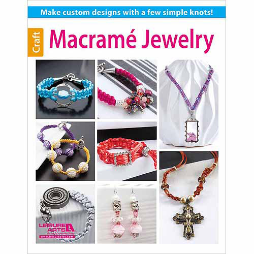Leisure Arts, Macrame Jewelry