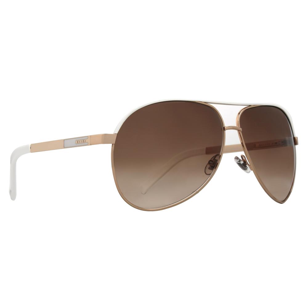 945d9e28b5f9 Gucci - GG 1827/S BNC/IS Gold White/Brown Gradient Aviator Sunglasses -  Walmart.com