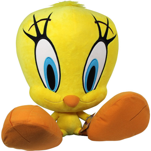 Looney Tunes Jumbo Plush Toy, Tweety