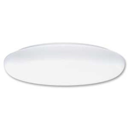 Lithonia Lighting FMLR 72 19 Inch Low Profile Round Flushmount Fluorescent Ceiling (Best Lighting For Low Ceiling Living Room)