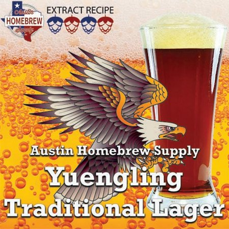 Austin Homebrew Clone Recipe Yuengling Traditional Lager (1C) - EXTRACT (Schöne Lager)