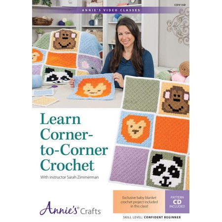 Crochet Tailored Split Corner Bedskirt - Learn Corner-to-Corner Crochet Class DVD : With Instructor Sarah Zimmerman