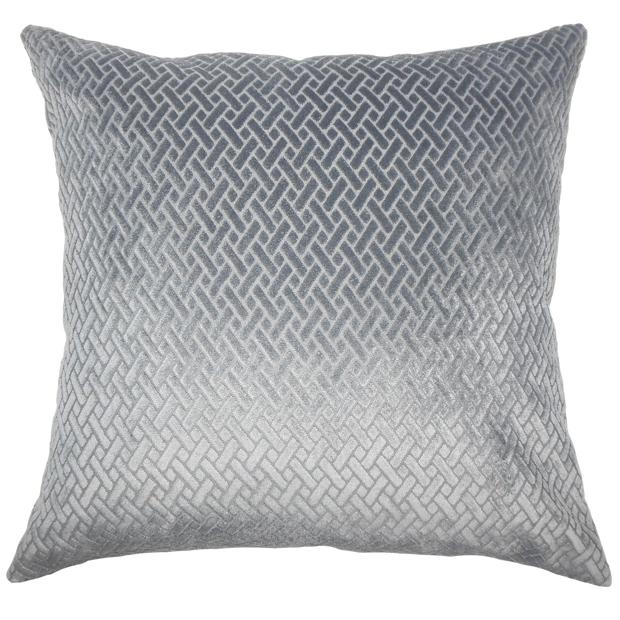 the pillow collection ilayda solid euro sham slate