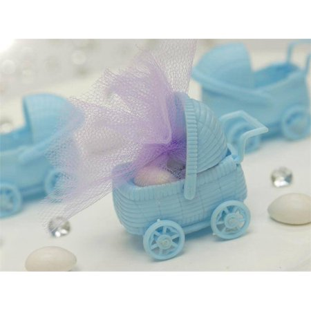 Halloween Baby Shower Favors (BalsaCircle 12 pcs Plastic Carriage Baby Shower - DIY Favors Party Decorations Crafts)