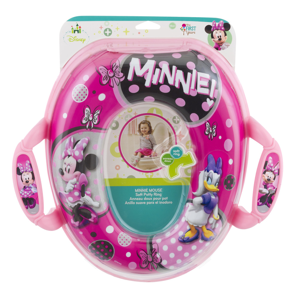 The First Years Disney Minnie Mouse Soft Potty Ring 18m+, 1.0 CT
