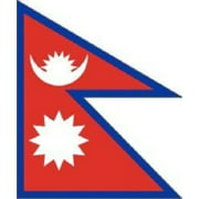 3x2.5 Nepal Flag Asian Country Banner Pennant Indoor Outdoor