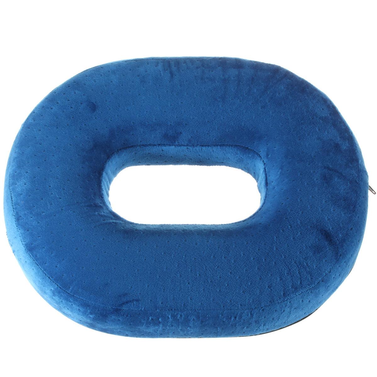 "16"" Memory Sponge Ring Soft Cushion Car Seat Donut Support Travel Pillow Pressure Pile Hemorrhoid Treatment, Bed Sores, Coccyx & Tailbone Pain, Prostatitis"