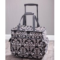 Rolling Sewing Machine Tote -