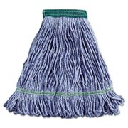 Unisan 502BLEA Super Loop Wet Mop Head, Cotton/Synthetic, Medium Size, Blue