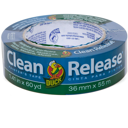"""Duck Brand 1.5"""" Clean Release Painter's Tape, 60 yds"""