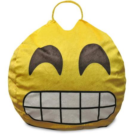 Emoji Pals Flawless Mini Bean Bag with Handle](Mini Bean Bags)