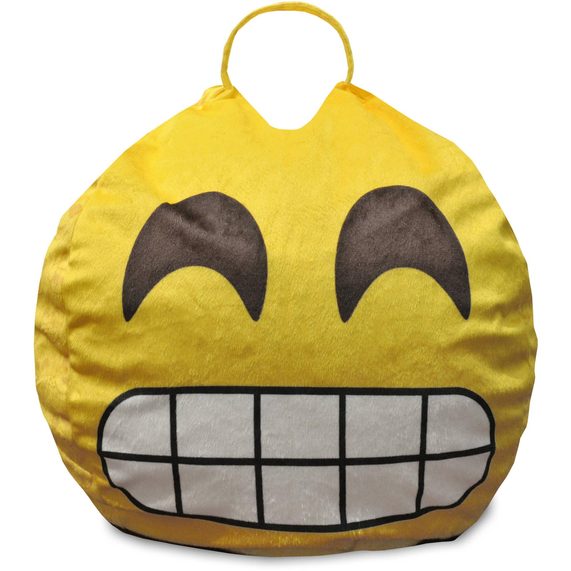 Emoji Pals Flawless Mini Bean Bag with Handle