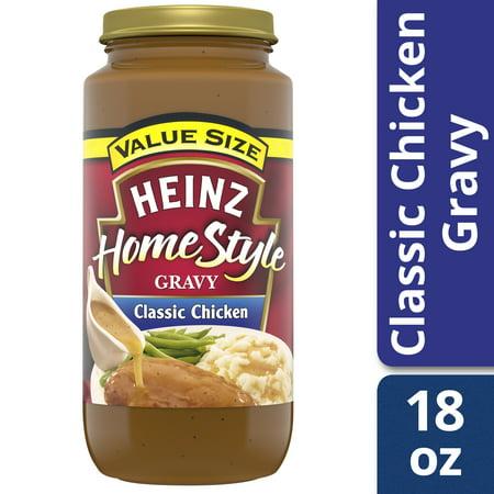 (2 Pack) Heinz Home-Style Classic Chicken Gravy, 18 oz