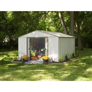 Oakbrook 10 ft. x 14 ft. Steel Storage Shed(10 x 14 ft.3,0 x 4,0 m)