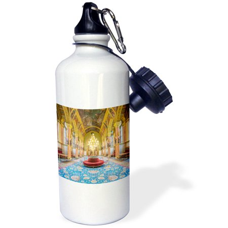 Hungarian Water - 3dRose Hungary, Budapest, Hungarian Parliament Building., Sports Water Bottle, 21oz