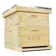 Complete Beekeeping 20 Frame Beehive Box Kit (10 medium 10 Deep) Langstroth Bee Hive from VIVO (BEE-HV01)