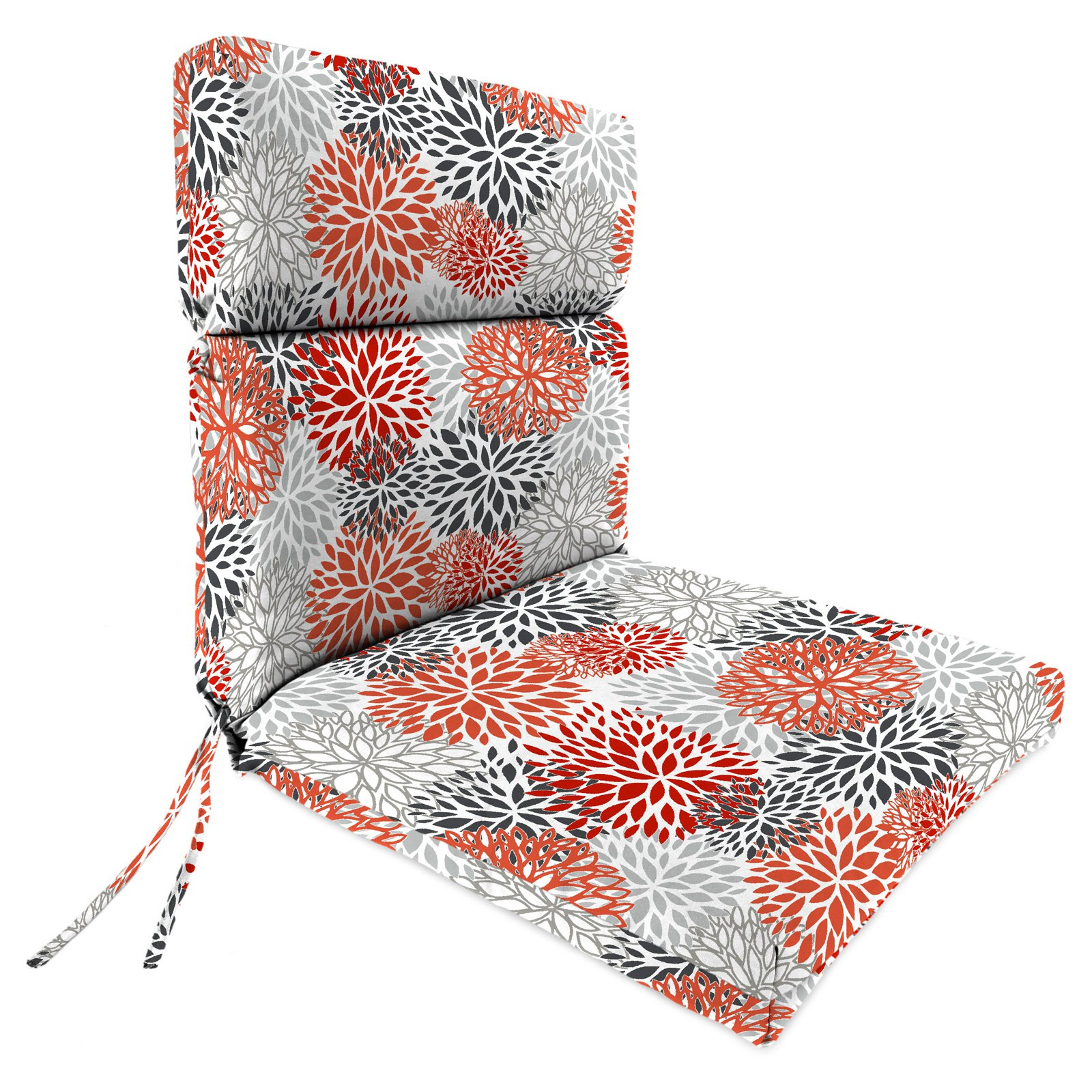 Jordan Manufacturing 44 in. Double Hinged Outdoor Bloom Chair Cushion