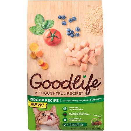 Good Life Indoor Recipe Chicken Dry Cat Food, 7 Lb by Good Life