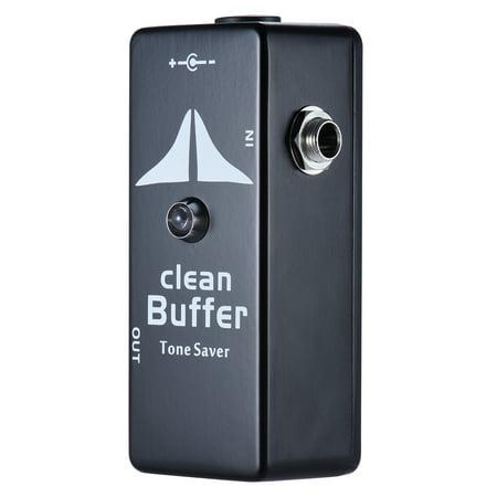 Mini Clean Buffer Guitar Effect Pedal Tone Saver Zinc-aluminium Alloy