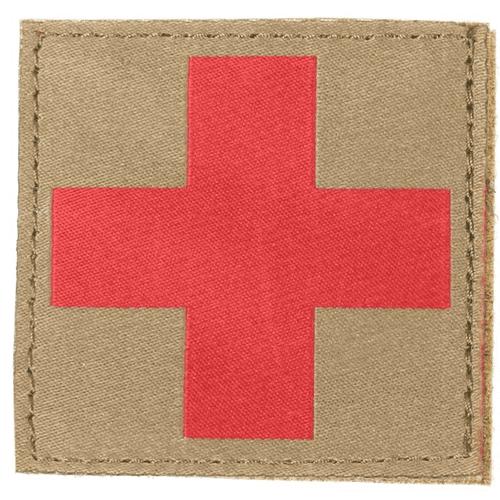 BLACKHAWK! Red Cross 90RC00CT COYOTE TAN W/HOOK AND LOOP