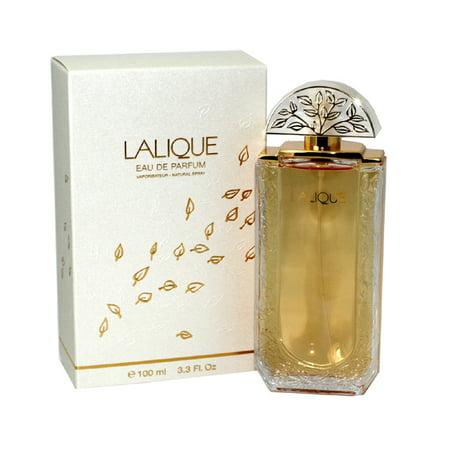 Lalique Eau De Parfum Spray 3.4 Oz / 100 Ml (Lalique Clear Crystal)