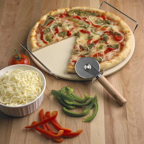 Fox Run Craftsmen 3-Piece Round Pizza Stone Set by Fox Run Brands