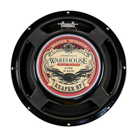 "Warehouse Guitar Speakers Reaper HP 12"" 50W British Invasion Guitar Speaker 8 Ohm"