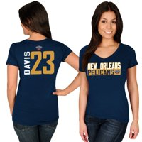 Anthony Davis New Orleans Pelicans Majestic Women's Name & Number V-Neck T-Shirt - Navy