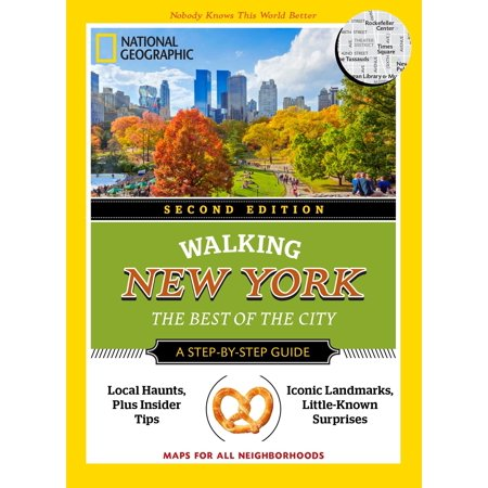 National Geographic Walking New York, 2nd Edition : The Best of the (Best Pocket Edition Seeds)
