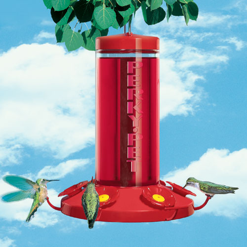 48 Oz Red Grand Master Poly HummingBirdfeeder by Perky Pet Products