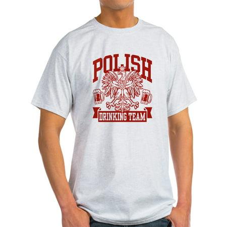 CafePress - Polish Drinking Team - Light T-Shirt - CP
